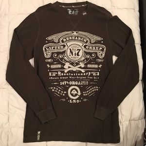 XL LRG Brown Long Sleeve Thermal